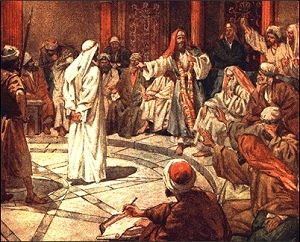 jesus relationship with sanhedrin and