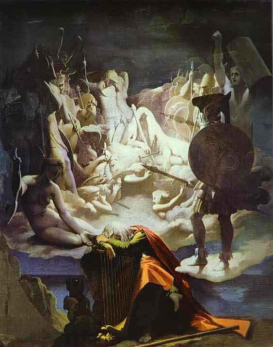 The Dream of Ossian, by Ingres